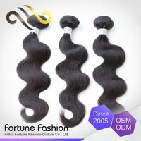 Quality Choice Fashionable and Luxury Natual Body Wave Peruvian Remy Virgin Human Hair Weaving