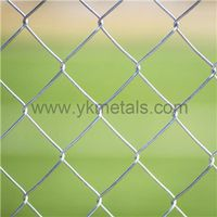 Chain Link Fence   chain mesh fencing     Hot Dipped Galvanized Chain Link Fence
