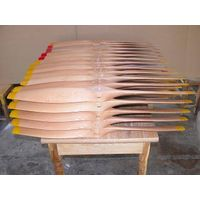 High performance Wooden props for rc plane