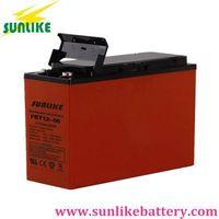 12V55ah Front Access Terminal AGM/Gel VRLA UPS Telecom Battery