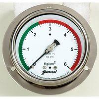 pressure gauge 40mm, 50 mm, 63 mm, small gauge, commerical pressure guages, pressure gauges
