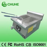 Stainless steel commcial induction chip fryer