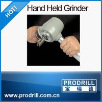 Hand-Held Grinder for Button Bits Maintenance