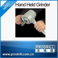 Hand-Held Grinder for Button Bits Maintenance