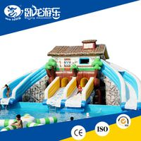 hot summer promotion inflatable water slide