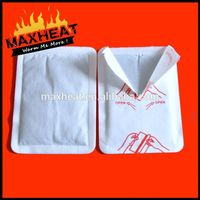 Wellenss Magic instant heat body warmer hot back pack Magic heat packs