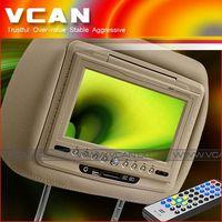 7 inch headrest pillowbag DVD
