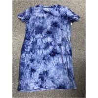 Ladies Tie-Dyed Long T-shirt thumbnail image
