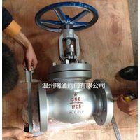 API flanged globe valve