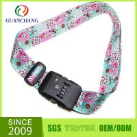 Fashion hot sell environmental protection luggage straps