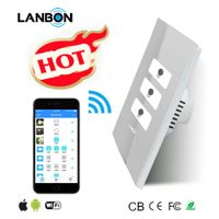 Led wall switch wifi switch remote control by mobile phone Time Switch