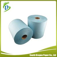 Recycled Blue Color Paper Hand Towel thumbnail image