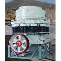 Large capacity compound cone crusher
