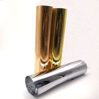 0.2mm Reflective Metallized Silver Plastic PET Film Roll For Mirror thumbnail image