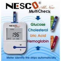 Blood Glucose, Cholesterol, Uric acid, Hemoglobin meter / Monitoring System