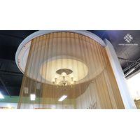 Architectural Cascade Coil Drapery - Metal Coil Curtain