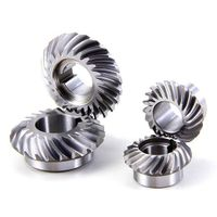 spiral bevel gear of Light rail used in cement industry, high precision spiral bevel gear, spiral be