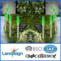 Solar powered bubble column lights for garden decoration thumbnail image