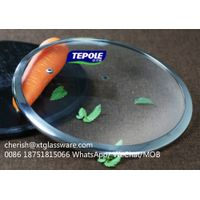 4.0mm Thickness Tempered Glass Lid For Cookware With FDA LFGB ISO9001 thumbnail image