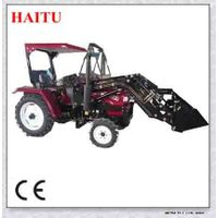 new condition CE approved mini tractors with front end loader for garden tractor
