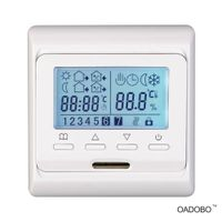 OADOBO universal 7-day programmable touch screen floor heating thermostat#V6