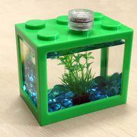 Acrylic Mini Fish Tank for Home and Office Aquarium FishTank Brand New Aquariums thumbnail image