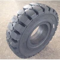 pneumatic solid tire for platform lift 7.00-9