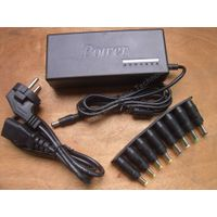 12V-24V 90W universal adapter for home and car use
