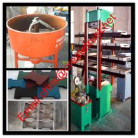 rubber vulcanizing machine/rubber tile making machine/rubber vulcanizing press