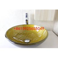 bathroom basin,glass sink,wash basin vessel sink wash sink bathroom cabinet sink n-741