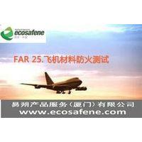 FAR 25.853: Horizontal Flammability Test  to Aircraft Material