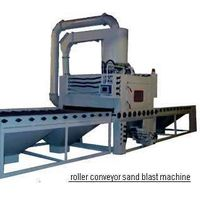 Automatic Roller Conveyor sand Blasting Machine for steel sheet thumbnail image