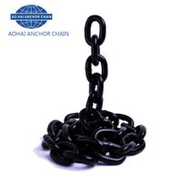 High strength G80 metal steel chain forged alloyed steel lifting chain
