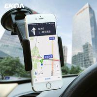EKOA SJ-125 Car Phone Mount Holder Car Phone Holder GPS Vehicle-mounted Mobile Scaffold thumbnail image