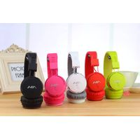 NIA Q8-851S bluetooth stereo sound headphone with TF card slot and FM radio