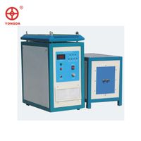 High frequency induction brazing machine for welding copper tube