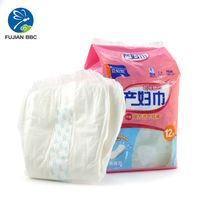 High Absorption Fluff Pulp Post Partum Pad Maternity Pads for Pregnant Woman Puerpera Manufacturer i