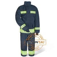 Fire Suit with NOMEX flame retardant waterproof NOMEX fabric ISO standard