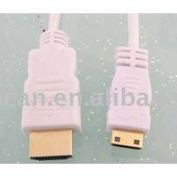 HDMI 19Pin Male to HDMI MINI C type with ferrite optional