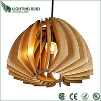 Modern Chandeliers Wood Pendant Lamp(LBMP-LXJ) thumbnail image