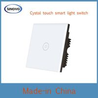 Competitive price with touch panel high quality light switch