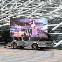 SoPower Mobile LED Video Display Vehicle Digital LED Mounted Screen iTrailer6 thumbnail image