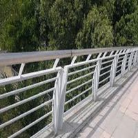 Welding Assembly Aluminum Handrail Parapet Balustrades for Infrastructure Construction