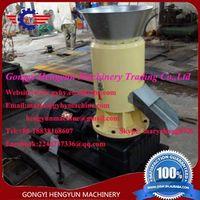 flat die wood pellet machine/fuel pellet machine/biomass pellet machine