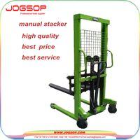 500-2000kg Load Capacity Manual Pallet Forklift Jack Stacker thumbnail image