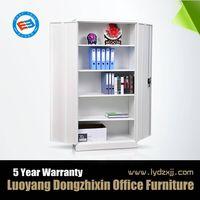 Knock down office steel double door filing cabinet