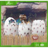 KAWAH Customized Artificial high simulation dinosaur eggs and babies thumbnail image