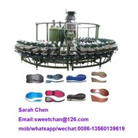 pu shoe production line/pu rotary sole inejction machine thumbnail image