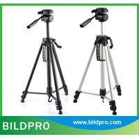 BILDPRO 57inch Compact Tripod Pan Fluid Head Digital Video Camera Stand
