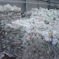 HDPE MILK BOTTLE SCRAPS 99.9% CLEAN